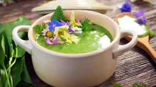 Крем суп из щавеля
