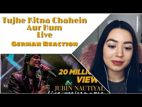 tujhe-kitna-chahein-aur-hum-|-kabir-singh-|-jubin-nautiyal-live-|-mithoon-|-german-reaction
