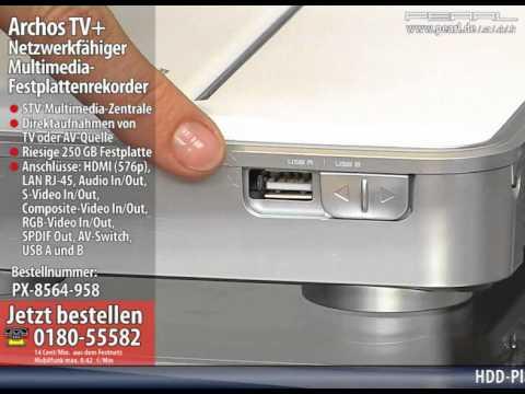 ARCHOS ARCHOS TV+ TREIBER WINDOWS 7