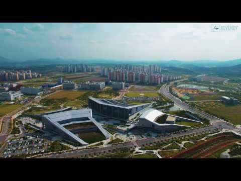NAEPO NEW CITY South Korea UHD 4K Aerial View (Explore S. Korea)