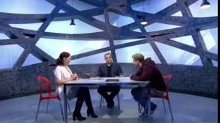 Эмма Райман на Первом канале Проект ЧЕРНО - БЕЛОЕ 12 серия