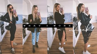 WHAT I WORE IN A WEEK   Hello October