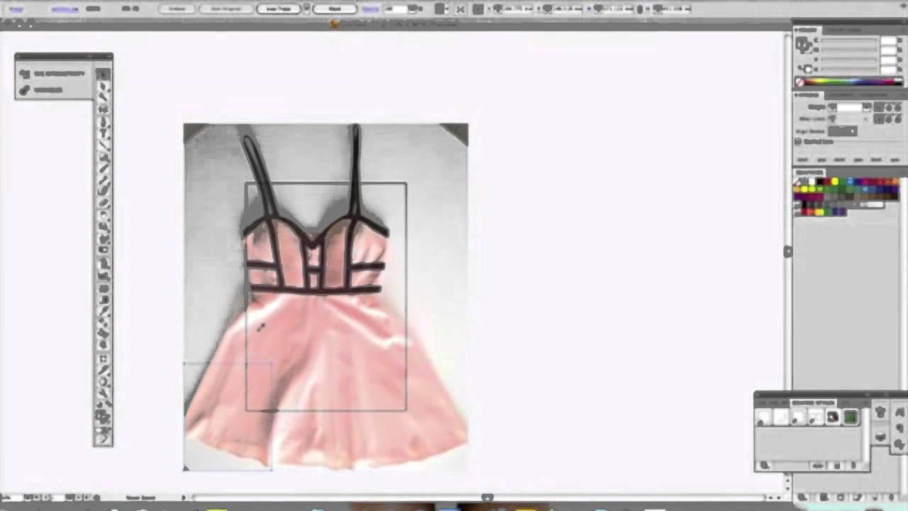Reproducción de prendas con Adobe Illustrator - YouTube