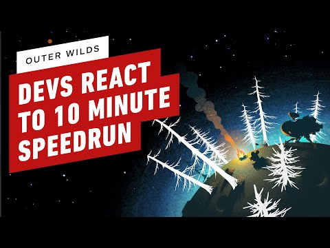 Outer Wilds Developers React to 10 Minute Speedrun