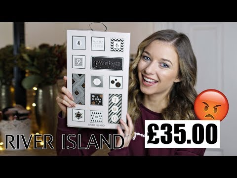 RIVER ISLAND ADVENT CALENDAR 2017 | *DREADFUL!!*