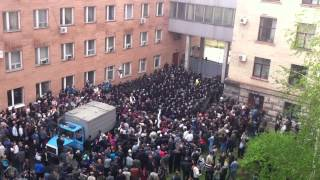 Внутренний двор ОГА(2). Луганск(Lugansk) 29.04.2014