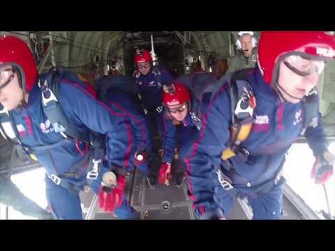 Royal Air Force Falcons Parachute Display Team