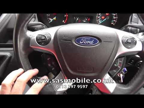 Ford Tranist Custom Autowatch Ghost Immobiliser Demonstration