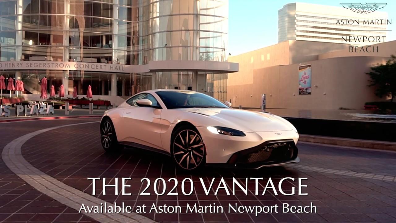 Aston Martin Newport Beach The 2020 Vantage Youtube