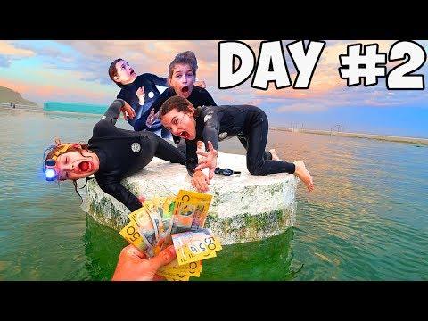 LAST TO LEAVE THE ISLAND WINS $1000   Kids version of Mr Beast Challenge