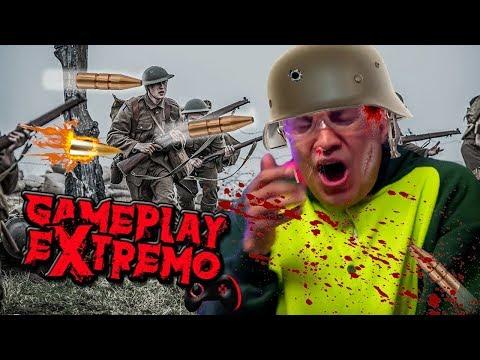 Dardos en la cara - Gameplay Extremo WW2♛