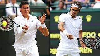 Wimbledon 2016. Milos Raonic vs Roger Federer. Highlights HD 2(, 2016-07-08T16:27:21.000Z)