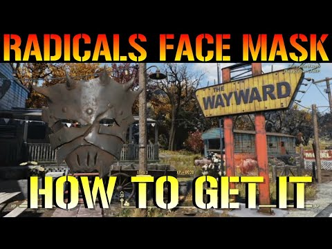 Fallout 76 Wastelanders: RADICALS FACE MASK! Guide | How To Get It (Secret Mission Reward)