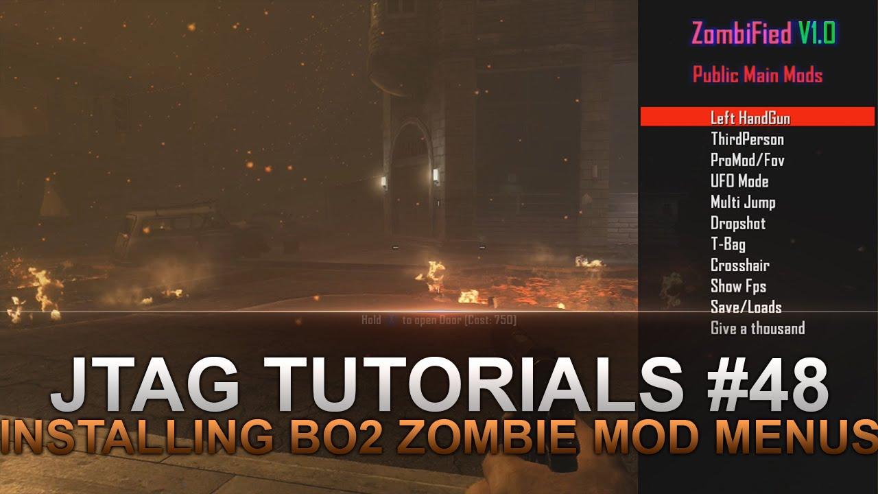 Jtag Tutorials #48 How to Install Black Ops 2 Zombie Mod Menus