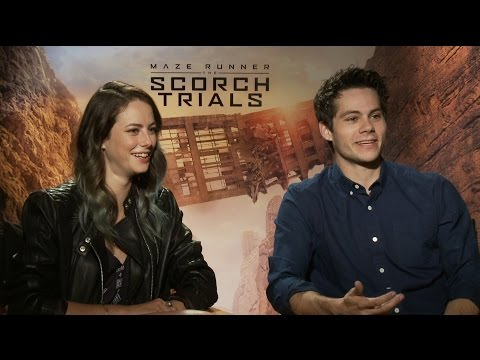 """Watch The 'Maze Runner: The Scorch Trials' Cast Play """"Save Or Kill"""""""