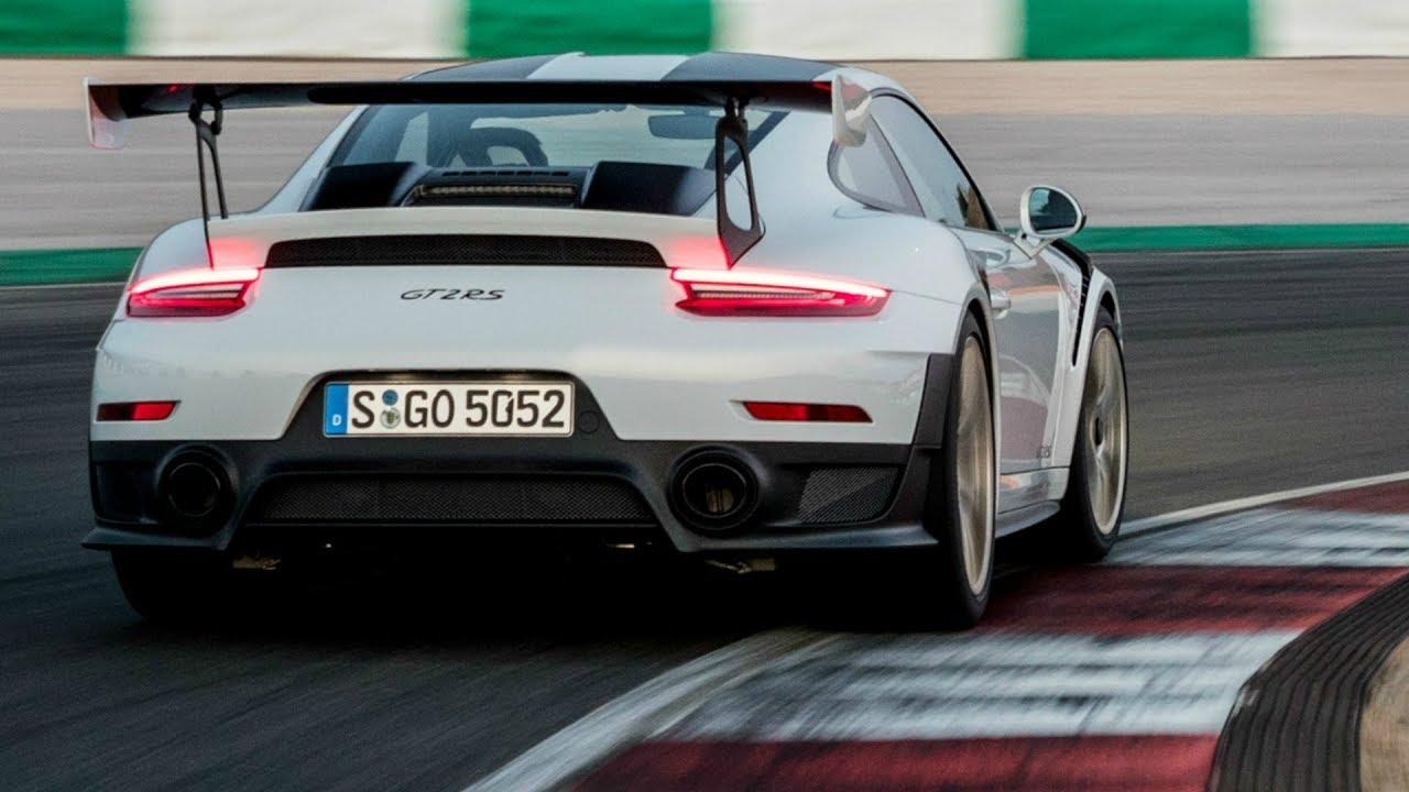 2018 porsche 911 gt2 rs exhaust sound 700 hp 750 nm youtube