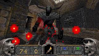 Hexen II: Hammer of Thyrion Gameplay (DOS)