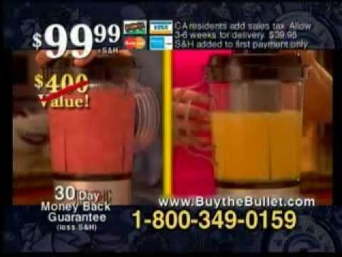 Magic Bullet Commercial