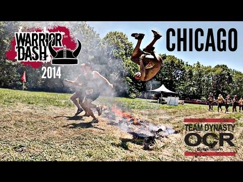 Warrior Dash Chicago - (FULL RACE) 2014