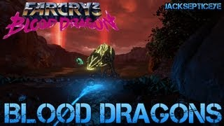 Far Cry 3 Blood Dragon - BLOOD DRAGONS - Gameplay Walkthrough Part 3 - PC Max Settings