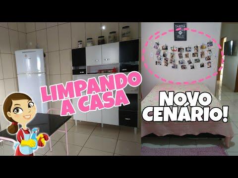 ROTINA DE DONA DE CASA! DECORANDO O QUARTO - PAREDE DE FOTOS! Tati Barbosa thumbnail