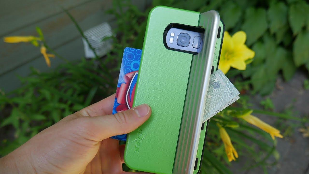 brand new 7062f 1aeb3 Zizo Retro Wallet Case for Galaxy S8 - Review