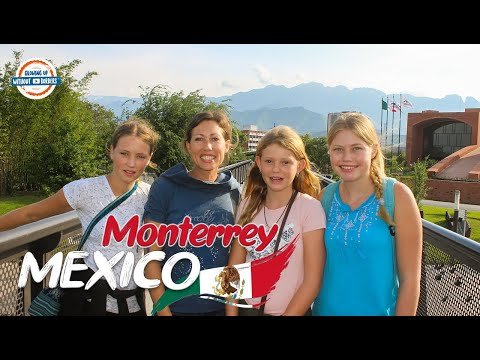 Monterrey Mexico 🇲🇽 City Tour & First Impressions | 90+ Countries With 3 Kids