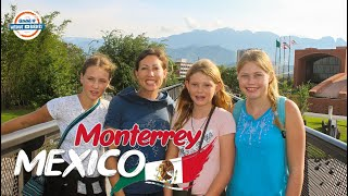 Monterrey Mexico 🇲🇽 City Tour & First Impressions   90+ Countries With 3 Kids