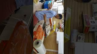 반자동수축포장기 동영상 입니다 010-5046-4004…