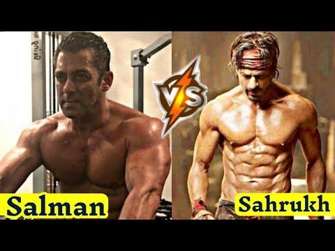 Salman Khan Vs Shahrukh Khan GYM Workout || Muscular Bodybuilding || New Video.