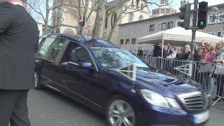 Trauer-Konvoi für Guido Westerwelle + VIP-Eskorte Bundespräsident mit Durchsage