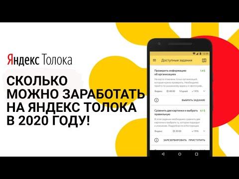 Сколько можно заработать на Яндекс Толока в 2020 году! | На удаленке