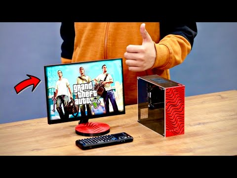 Making The World's Smallest Gaming PC - Pewdiepie Themed