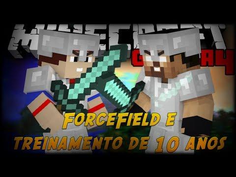 """Minecraft Guerra #14 """"Forcefield e 10 ANOS DE TREINAMENTO"""""""