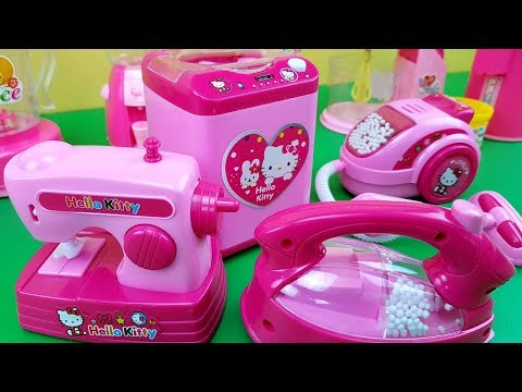 Hello Kitty Mini Household Kitchen Set Toys, Play with Miniatures of Real Household Items