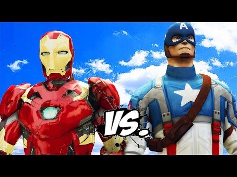 IRON MAN VS CAPTAIN AMERICA - EPIC...