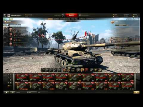 WOT: How I play....IS2 Follow the Russian premium bear