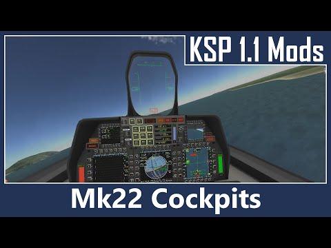 KSP Mod Spotlight - Mk22 Cockpits