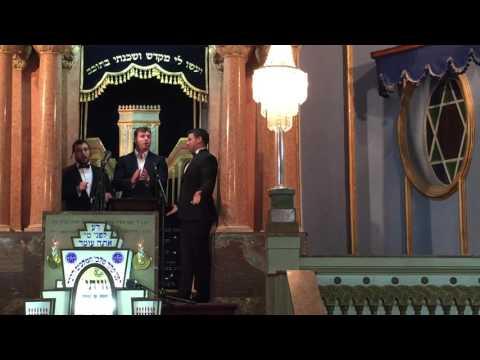 Three Tenors Cantors #Tordjman #Yoskovitch #Schwartz, Pesach Medley שלושת הטנורים, מחרוזת פסח 2016
