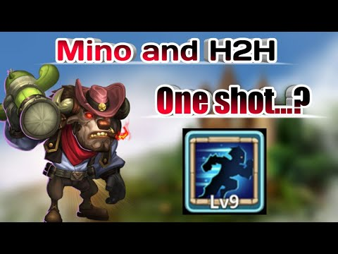Guildwar   Stealth Mino In Action   Top-5   One Shot   Also Head To Head Guildwar Run   Casle Clash