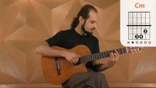 A Mulher Que Eu Amo - Roberto Carlos (aula de violão simplificada)