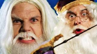 Repeat youtube video Gandalf vs Dumbledore.  Epic Rap Battles of History #11