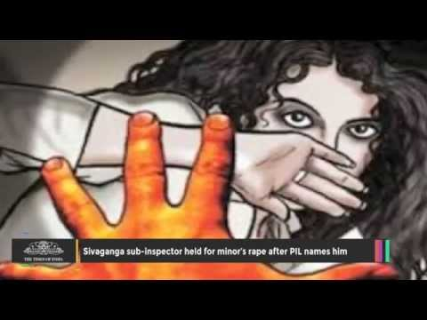 Sivaganga Sub-inspector Held for Minor's Rape After PIL Names Him
