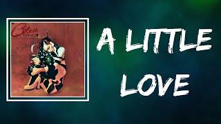 Celeste - A Little Love (Lyrics)