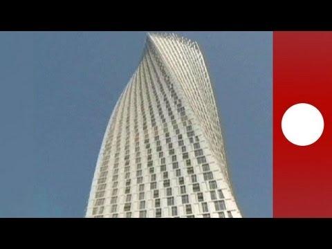 La plus haute tour tordue du monde, c'est à Dubaï !