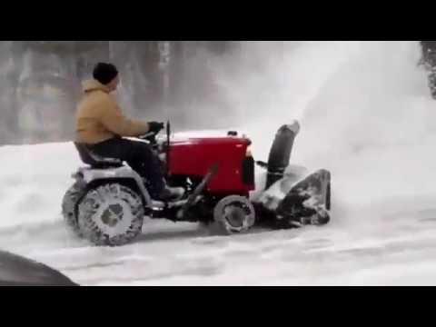 Трактор для уборки снега Craftsman 27394