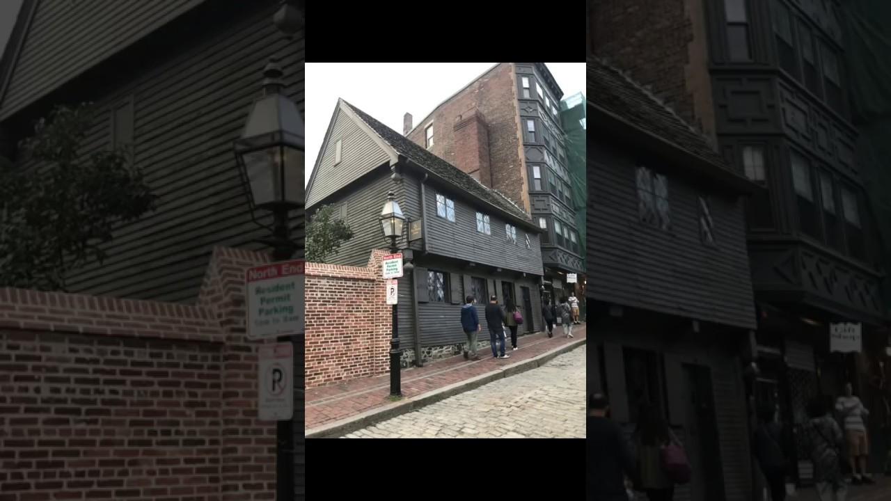 Paul Revere House   October 12, 2017