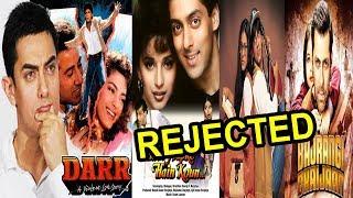 Aamir Khan REJECTED Salman Khan – Shahrukh Khan's This Blockbuster Films | FWF