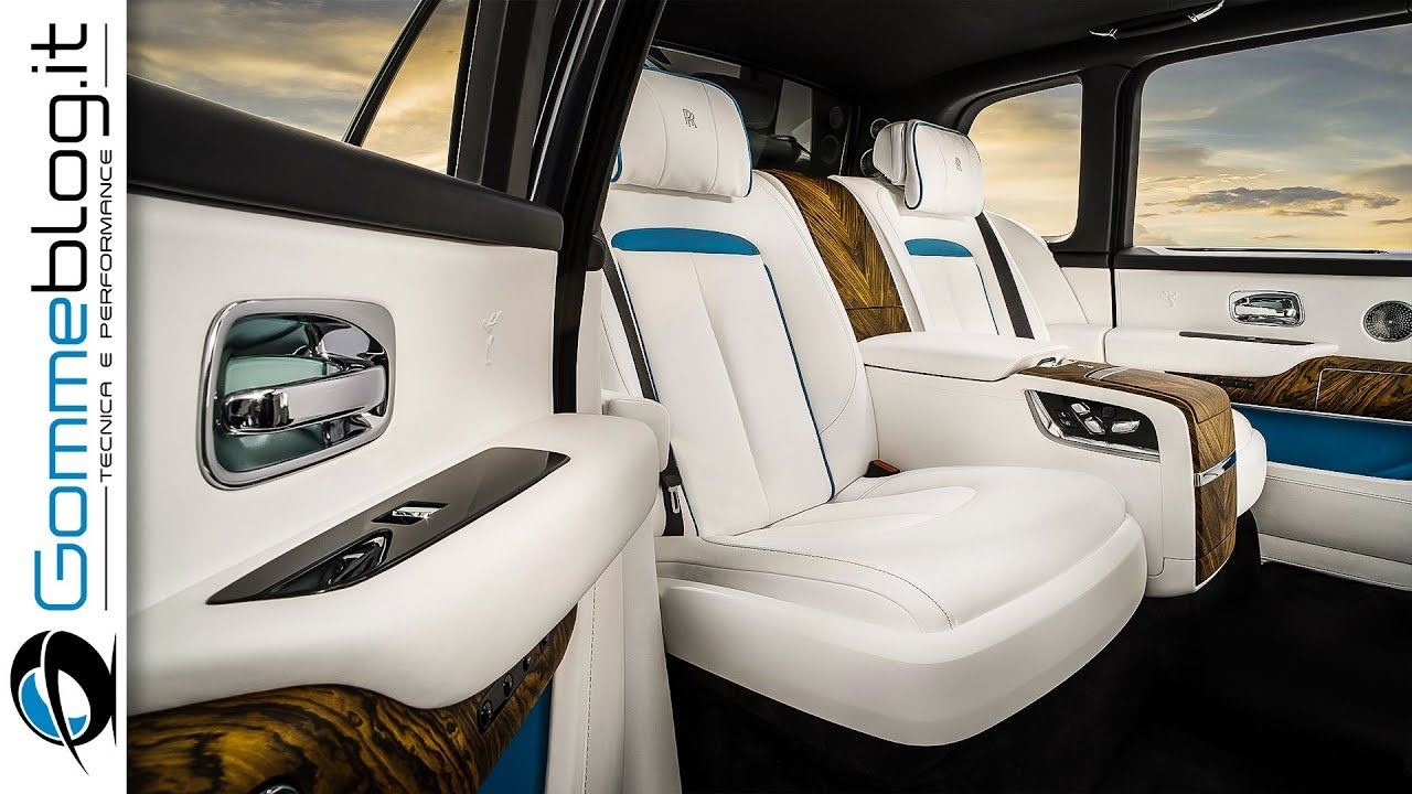 2019 Rolls Royce Cullinan - INTERIOR - The World's Most ...