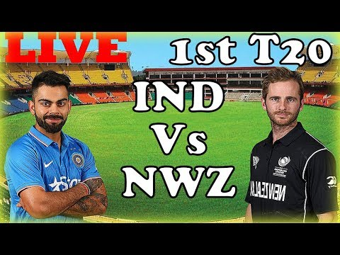 Live India Vs New Zealand 1st T20 Live Streaming Today Match Live Score Updates 1st t20 Live